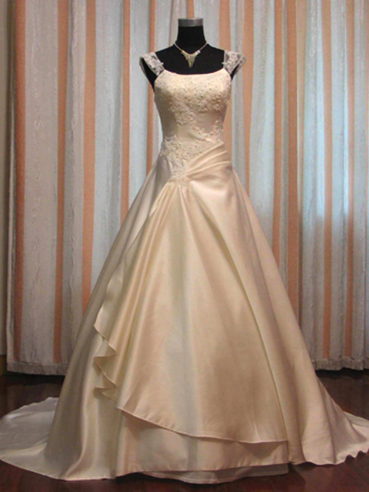 Modest Wedding Gown - Penelope