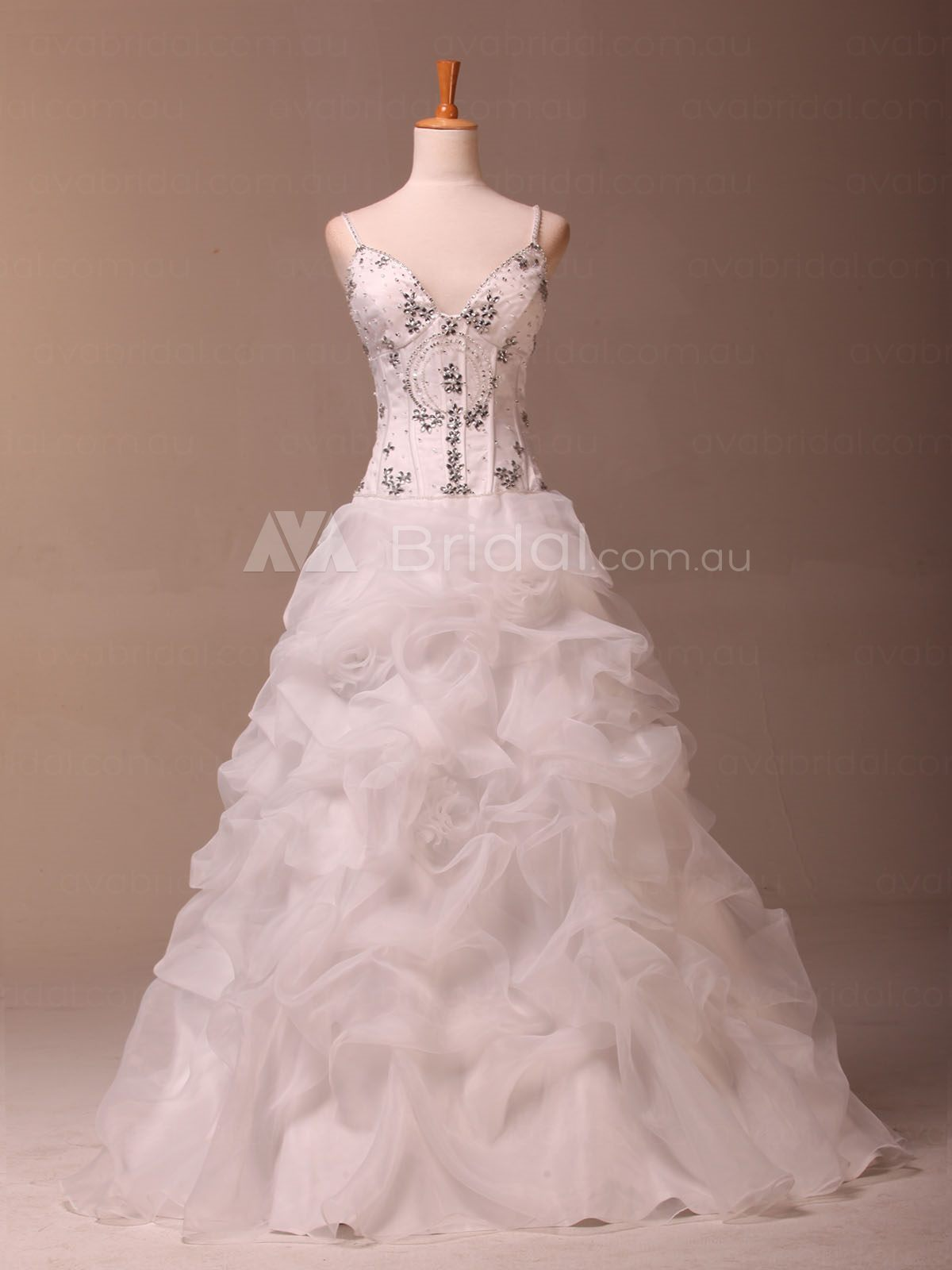 Princess Deb Dress - Serena - Front