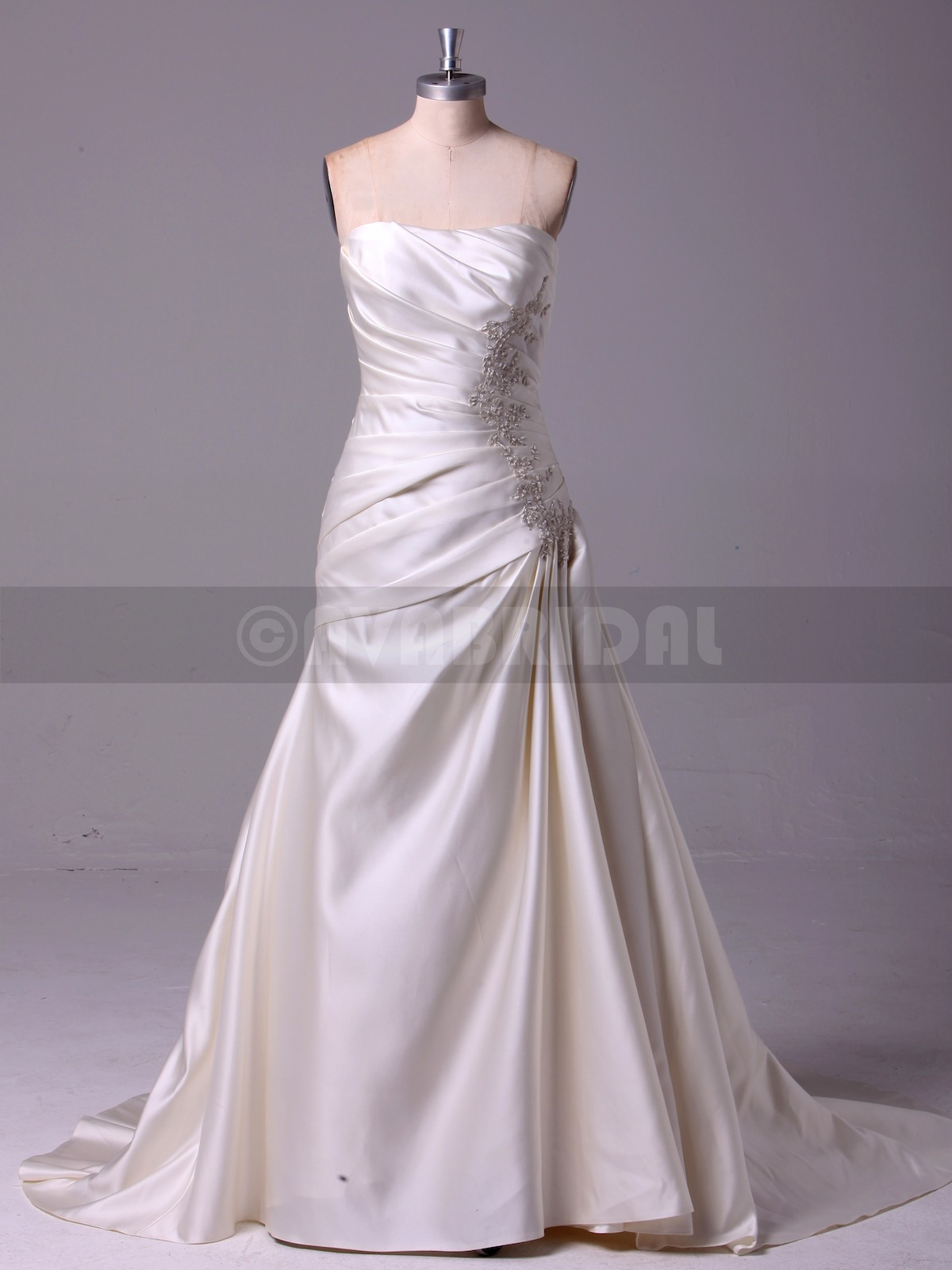 Simple Wedding Dress - Adelaide - Front