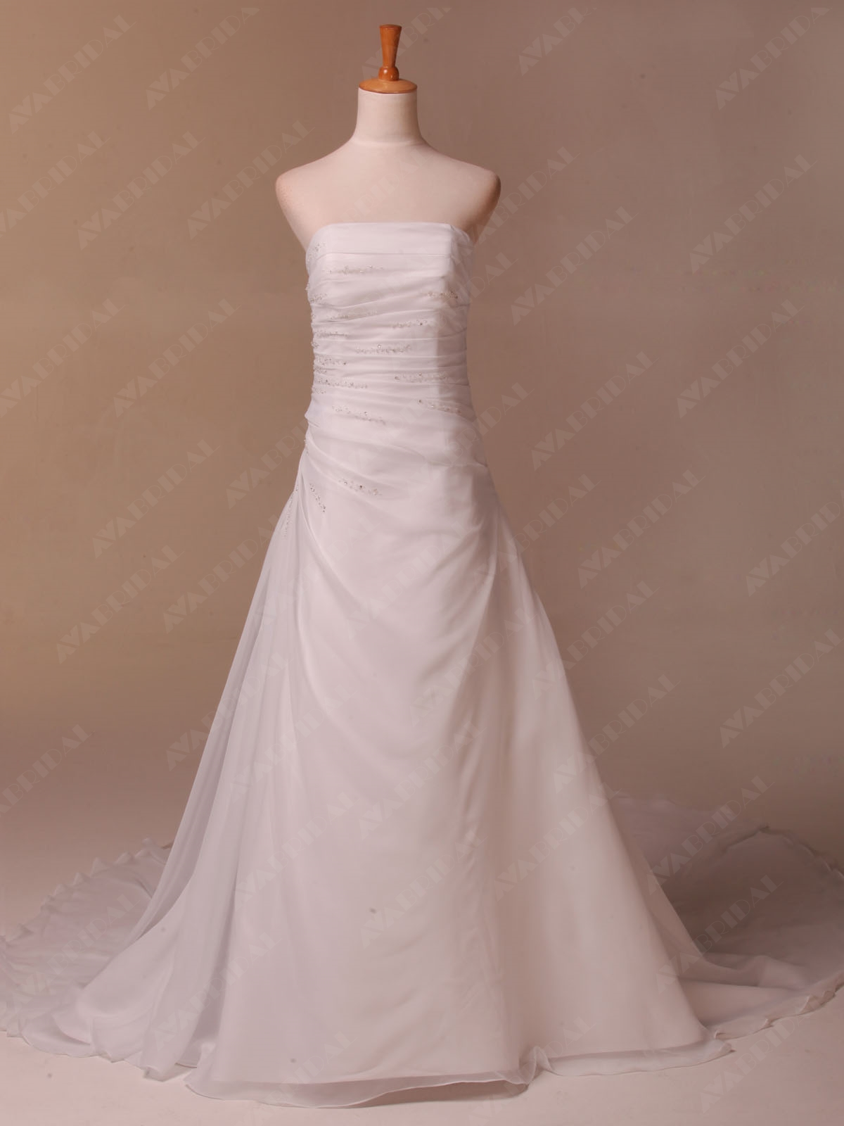 Summer Wedding Dress - Eva - Front