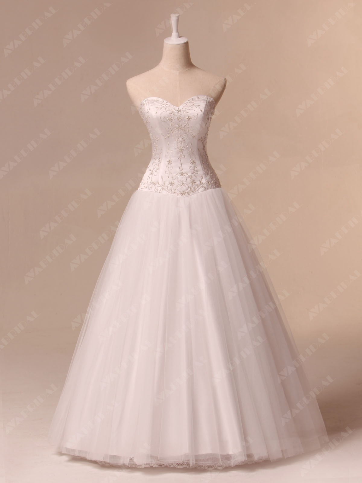 Princess A-line Wedding dress - Shanon - Front