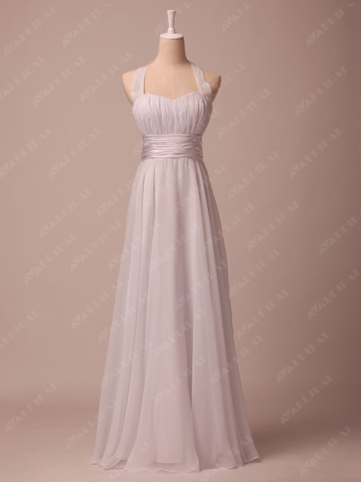 Chic Simple Wedding Dress - Gina - Front