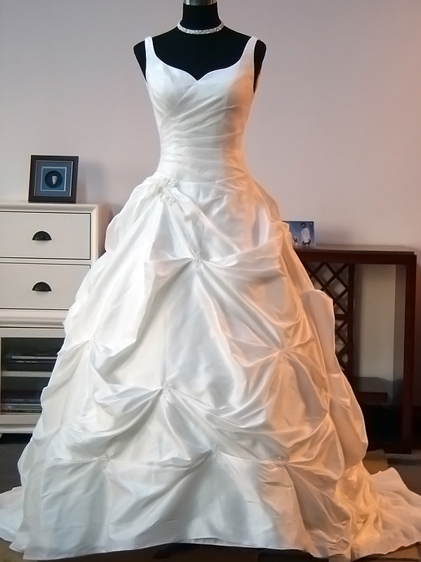 Fall Wedding Dress - Daly - Front