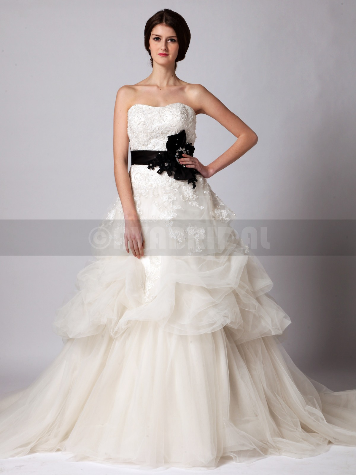 Alternative Wedding Dress - Kathrine - Front