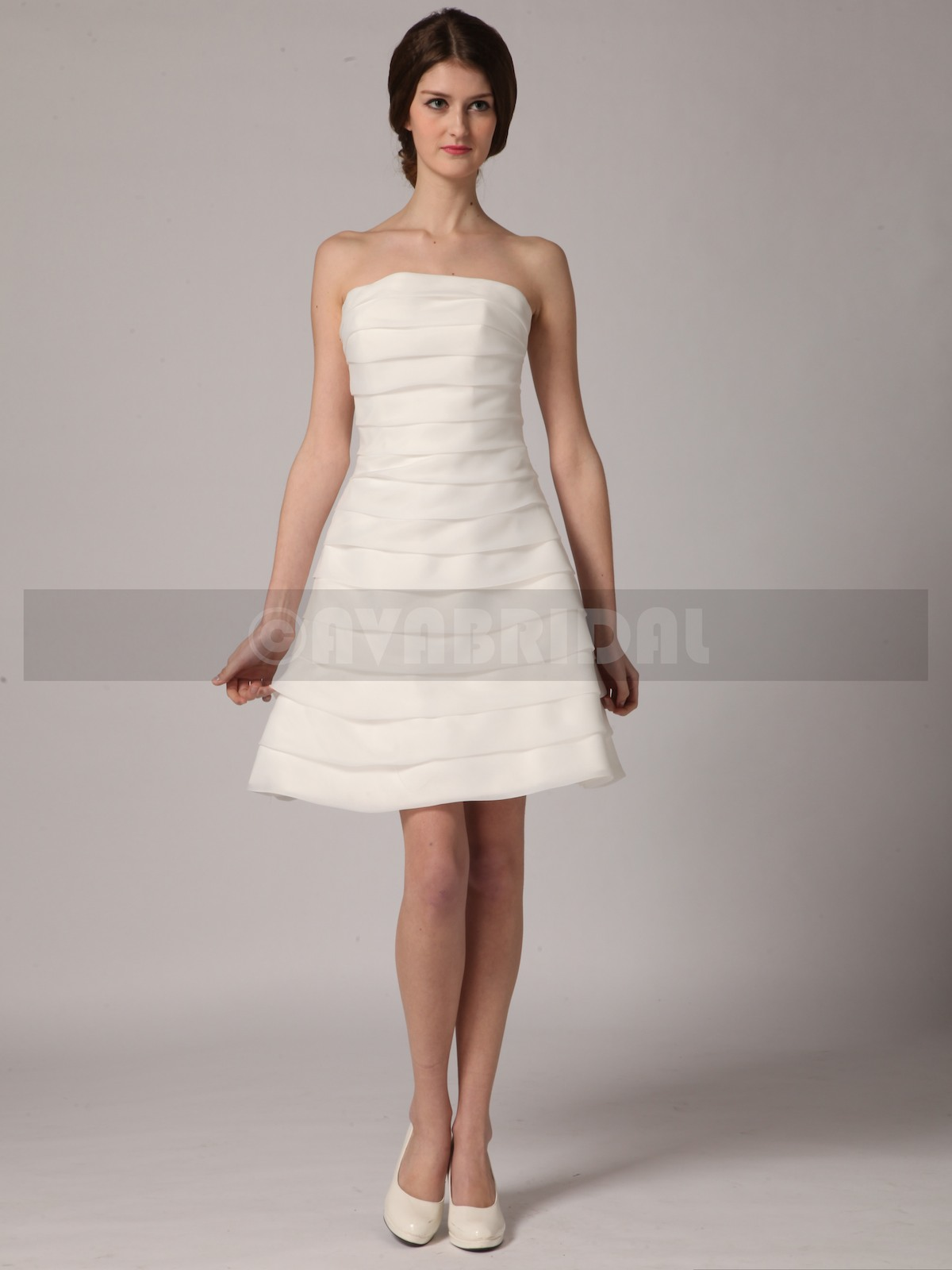 Short Sexy Wedding Dresses - Molly - Front