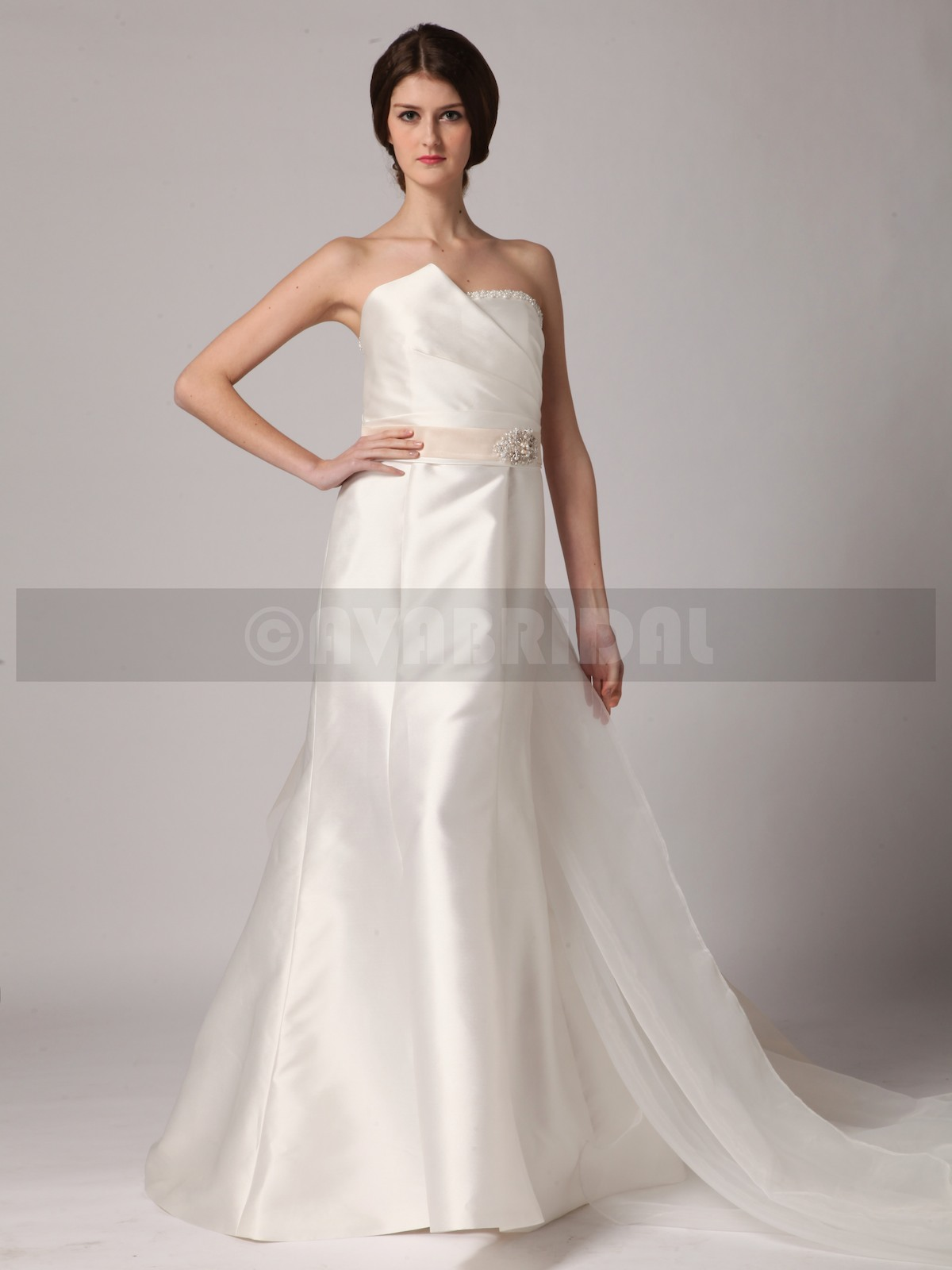 Non Traditional Wedding Dress - Shirley - Front
