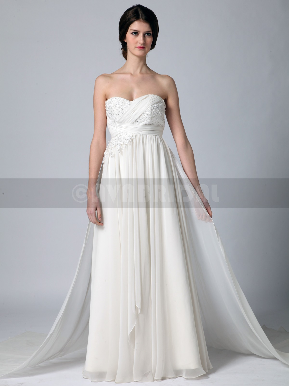 Beach Style Wedding Dress - Tamara - Front