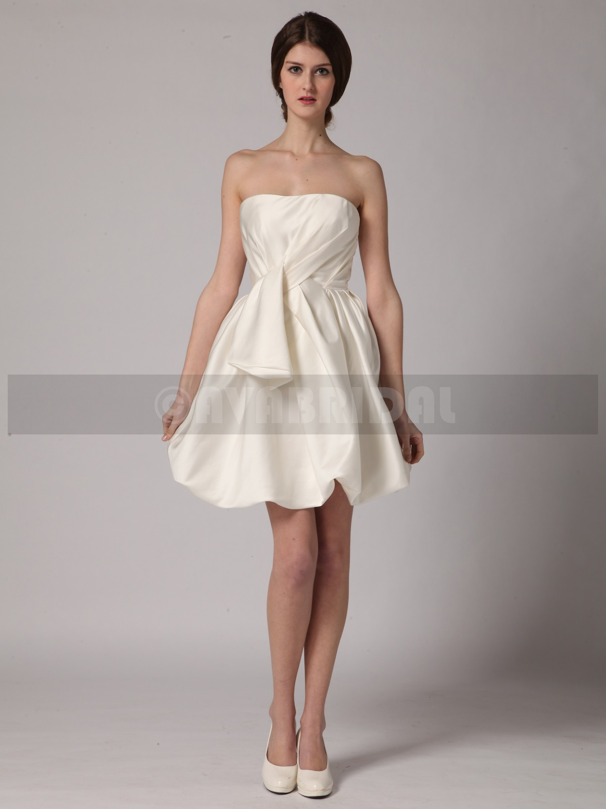 Short Wedding Dress - Daisy - Front
