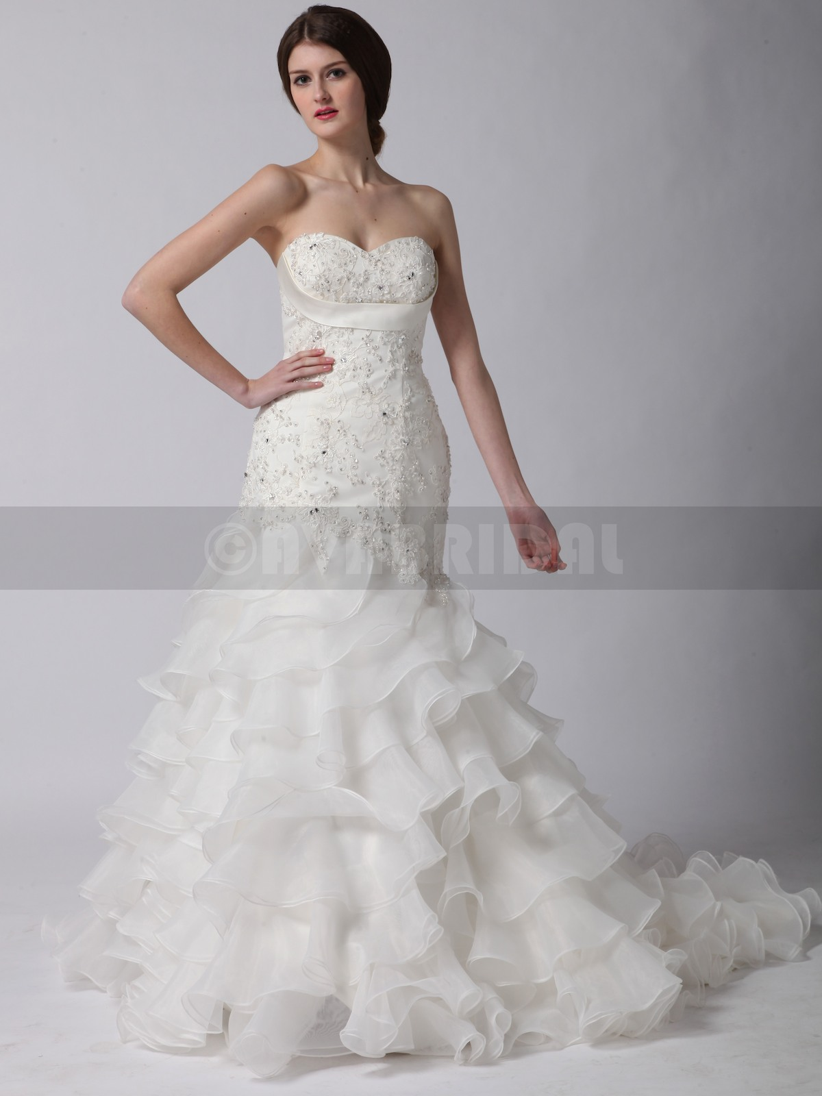Elegant Wedding Dress - Maggie - Front