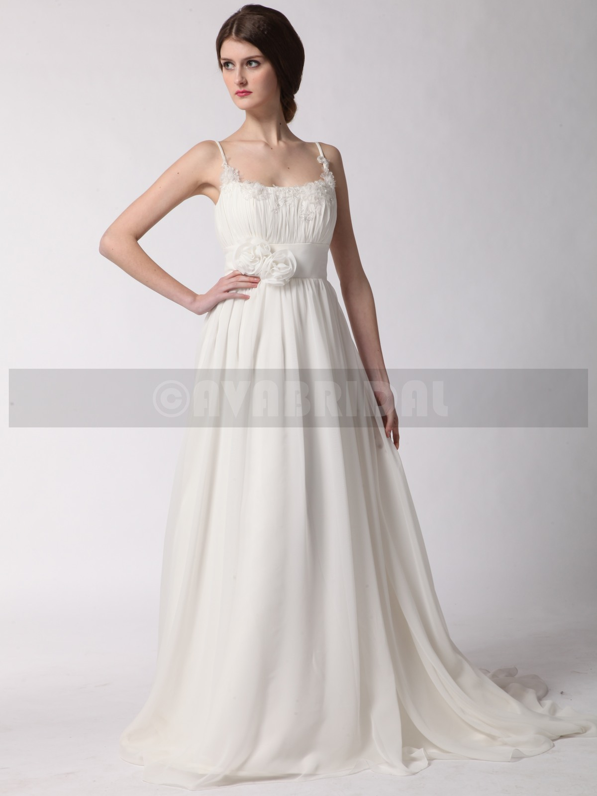 Grecian goddess wedding dress delia ava bridal for Grecian goddess wedding dresses