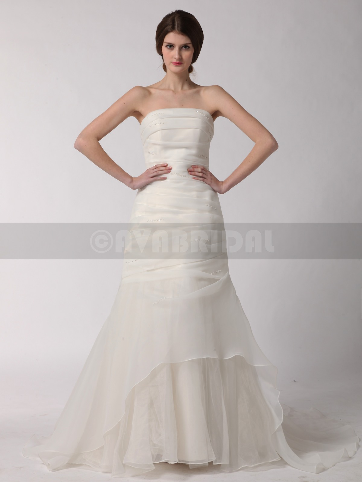 Elegant Wedding Dress - Amanda - Front