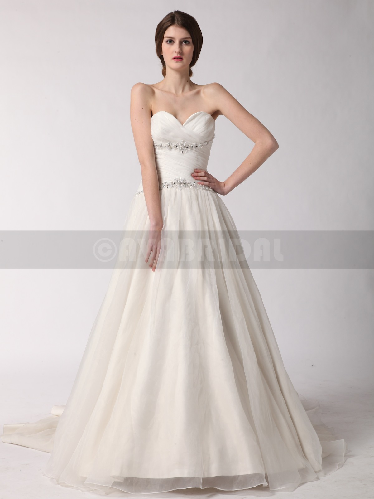 Princess Wedding Dress - Rebecca - Front