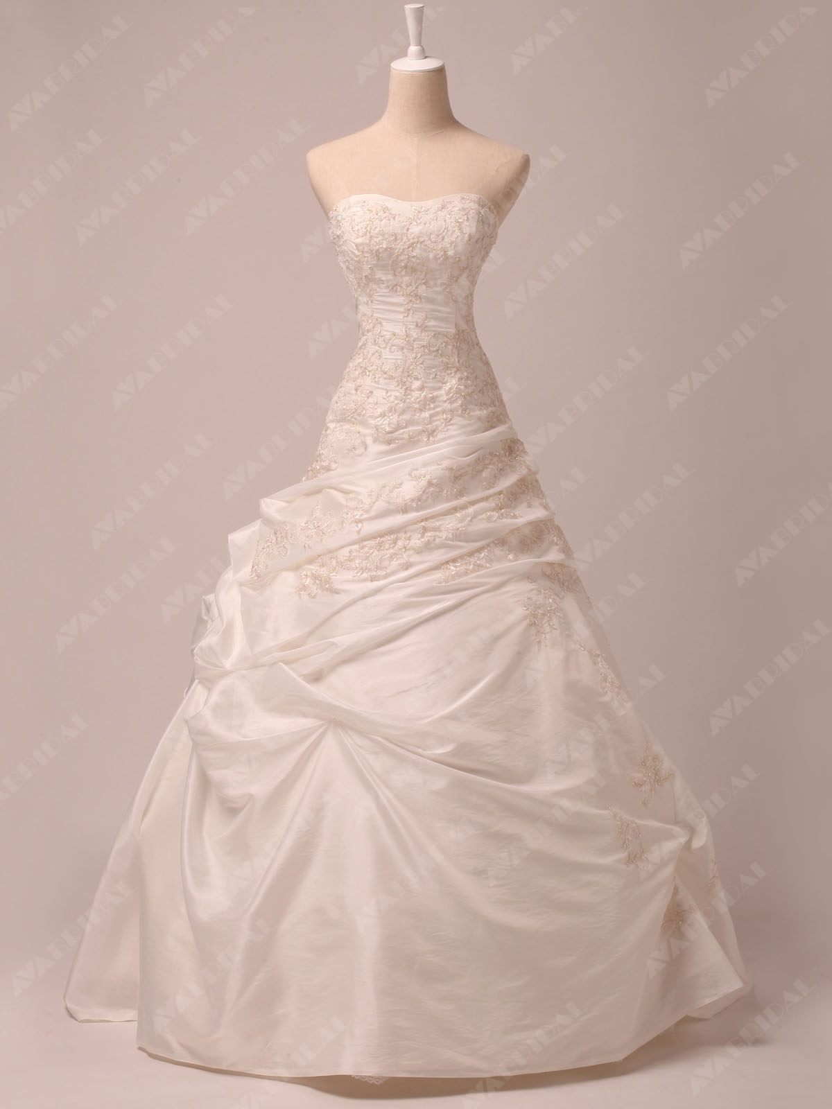 Modern Ball Gown - Wimberly - Front