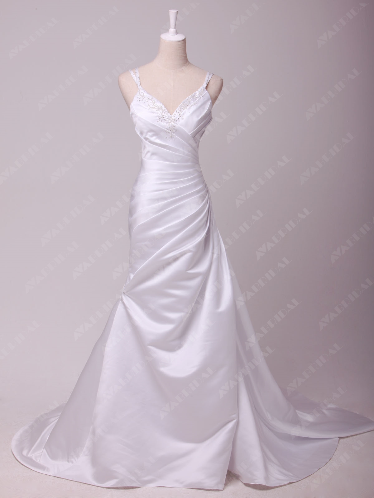Back Out Wedding Dress - Madailein - Front