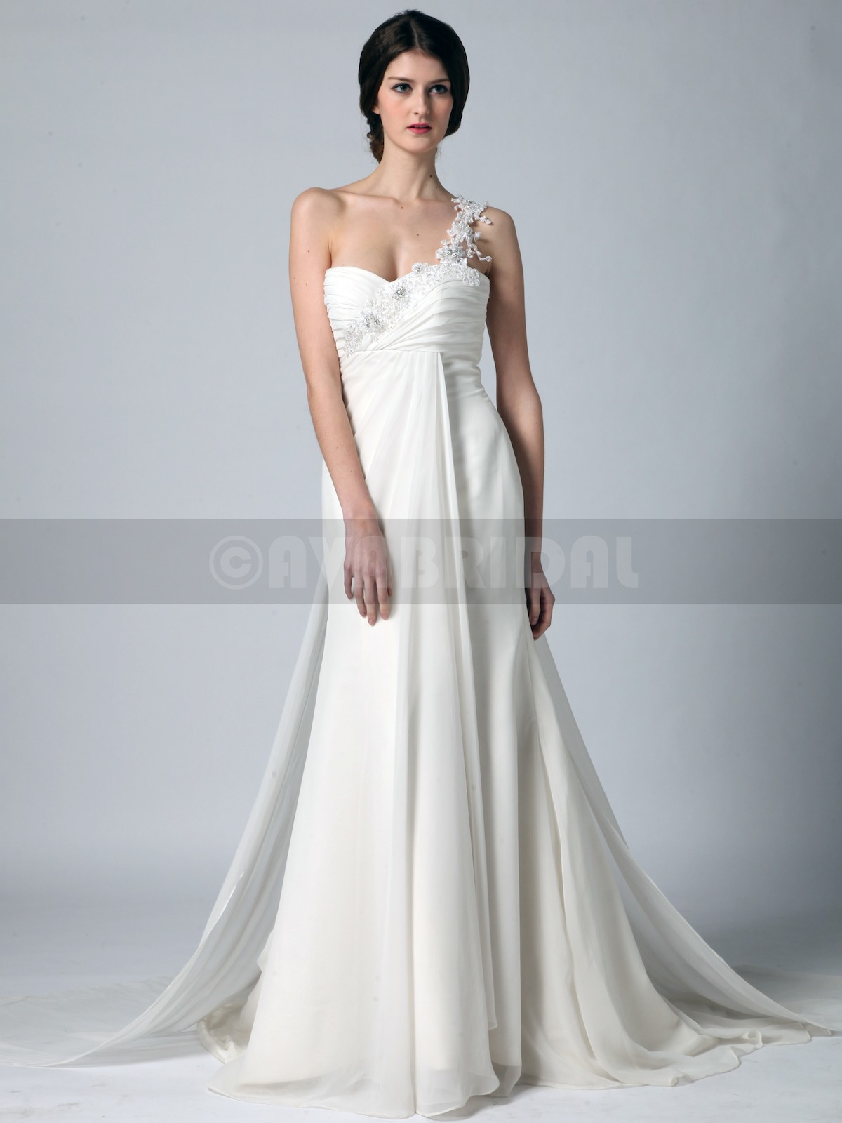 Grecian Goddess Wedding Dress - Lydia | Ava Bridal