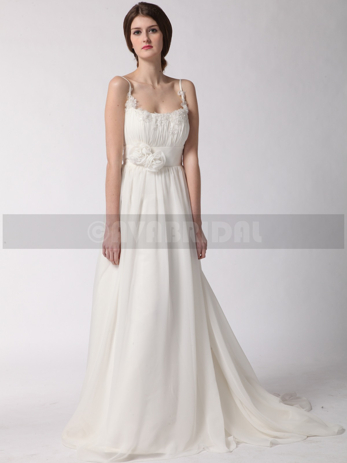 Grecian Goddess Wedding Dress - Delia | Ava Bridal