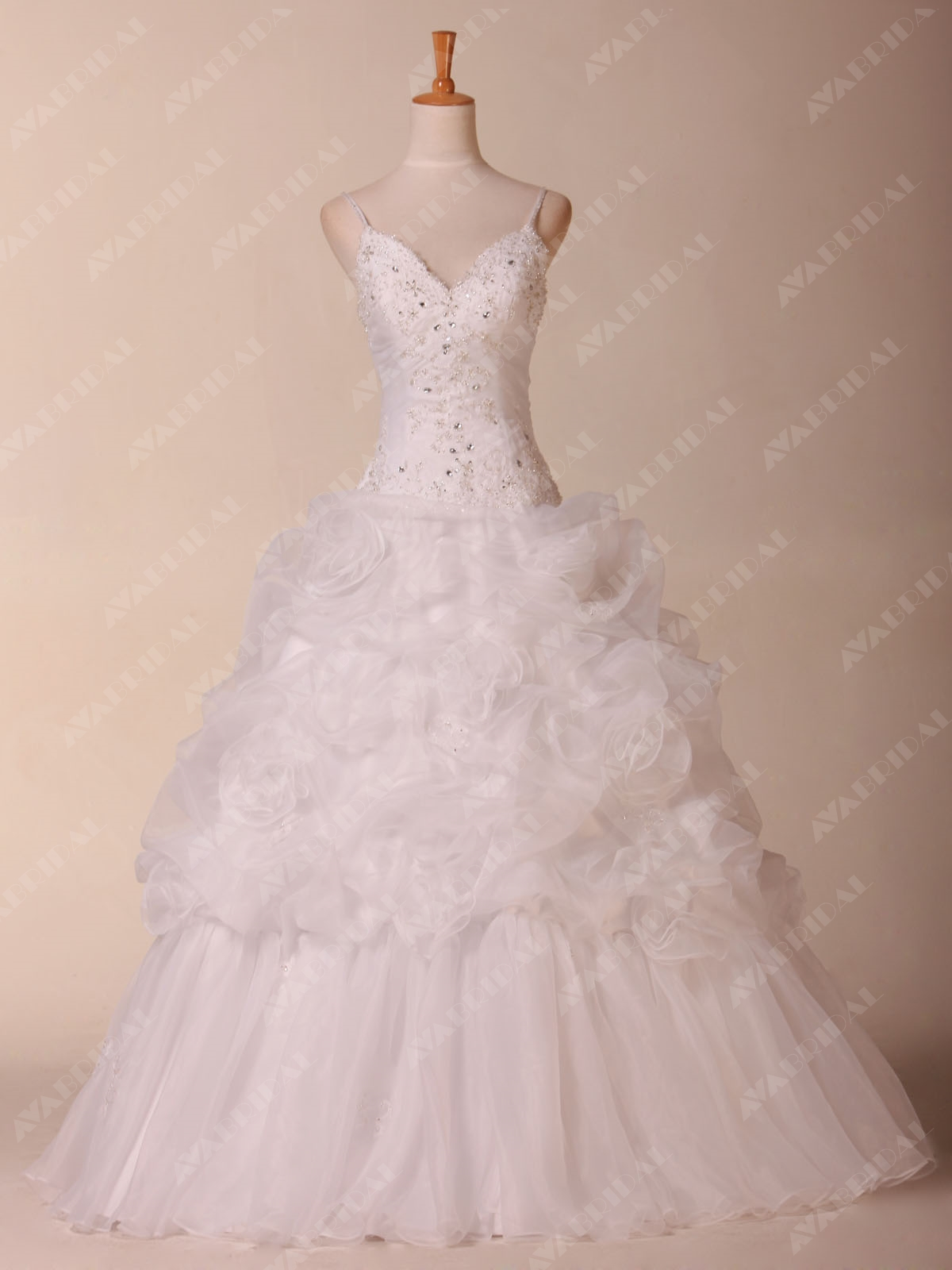 Princess Wedding Dress - Paige - Front