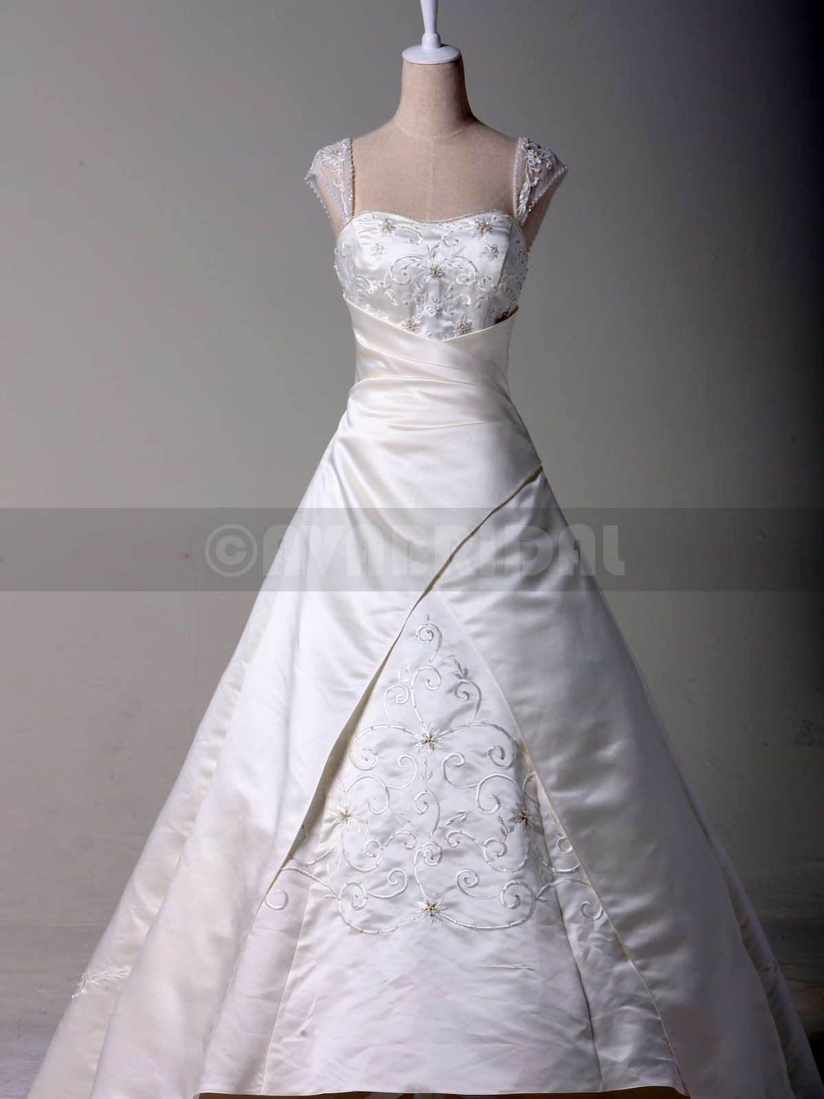 Modest Wedding Dress - Bonnie - Front
