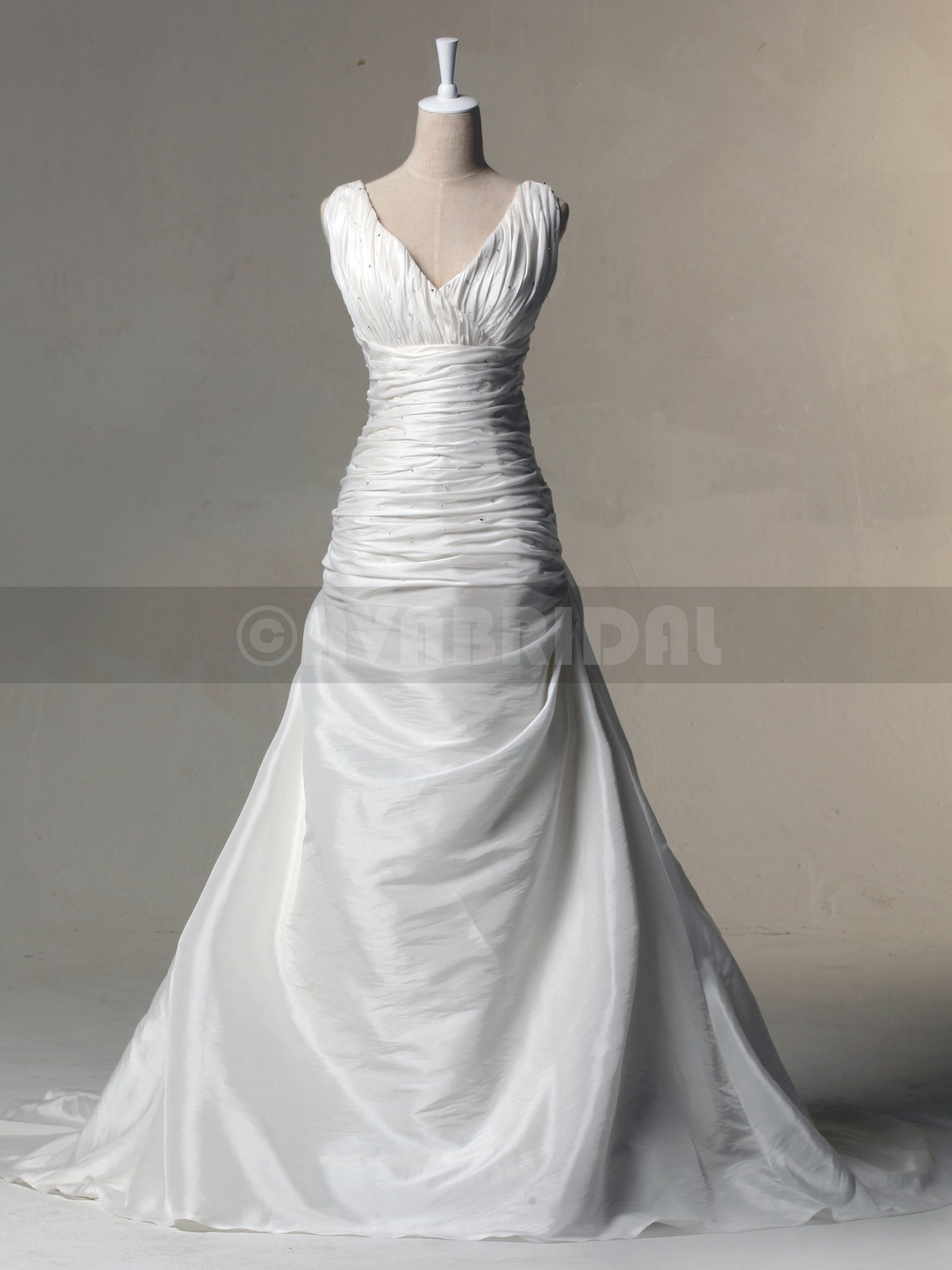 Chic Wedding Gown - Morise - Front