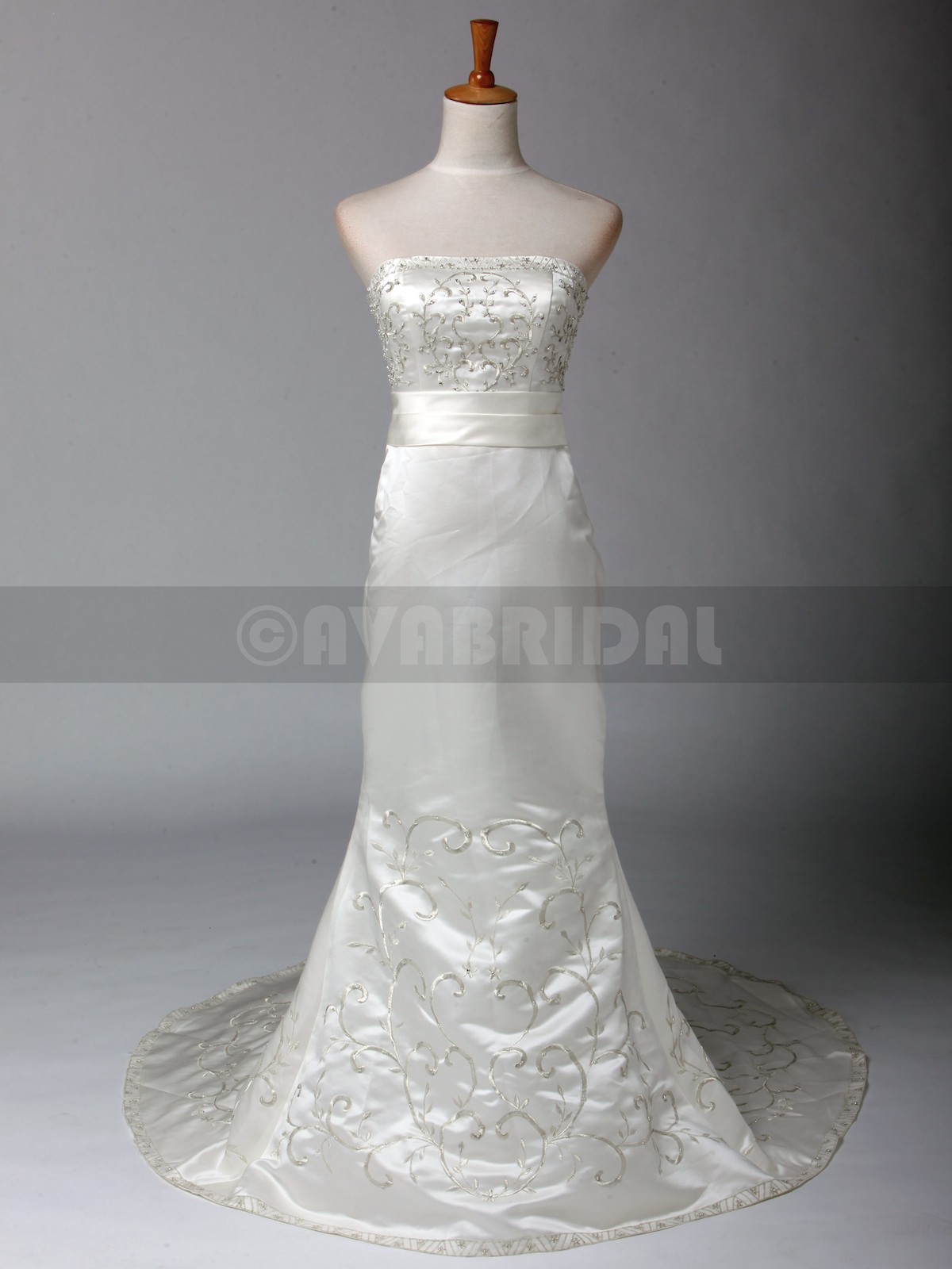 Vintage Style Wedding Dress - Sonya - Front
