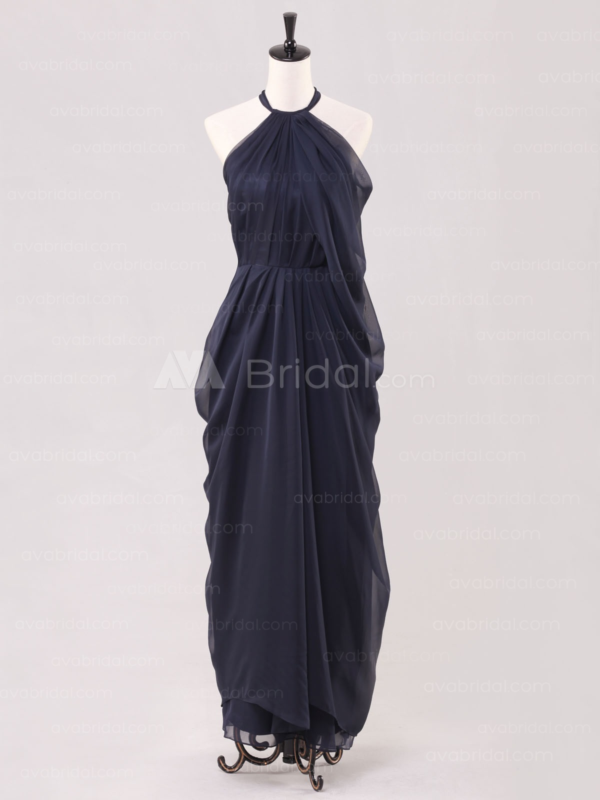 Vintage Inspired 1920's Style Bridesmaid Dress B479-front