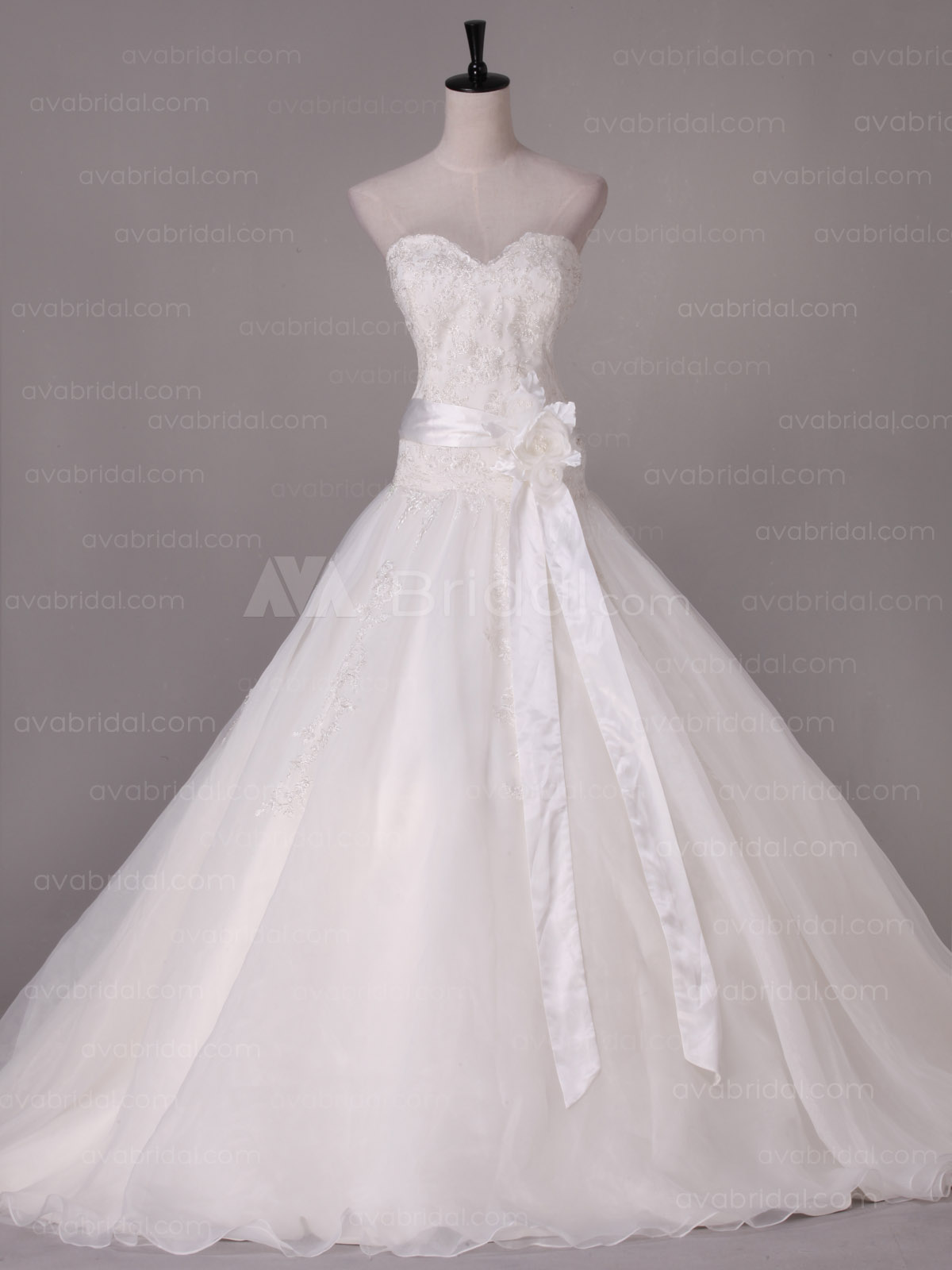 Romantic Wedding Dress - Madison - Front