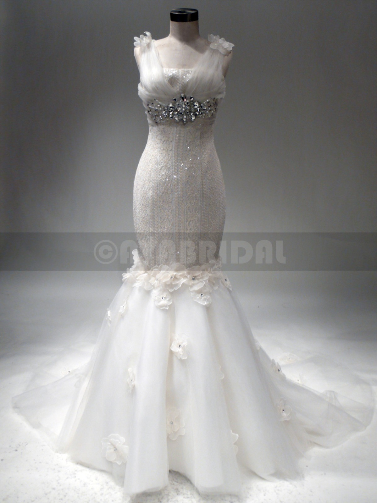 Romantic Wedding Gown - Edlyn - Front