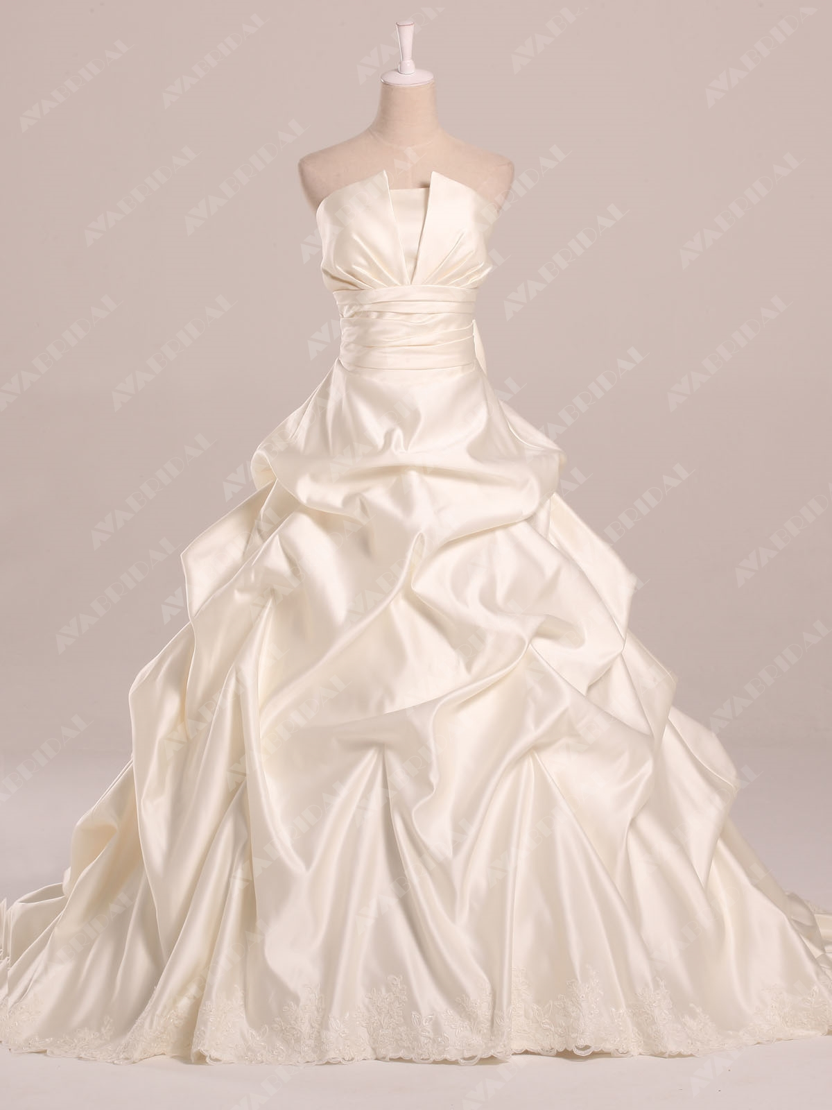 Modest Ball Gown - Avelyn - Front