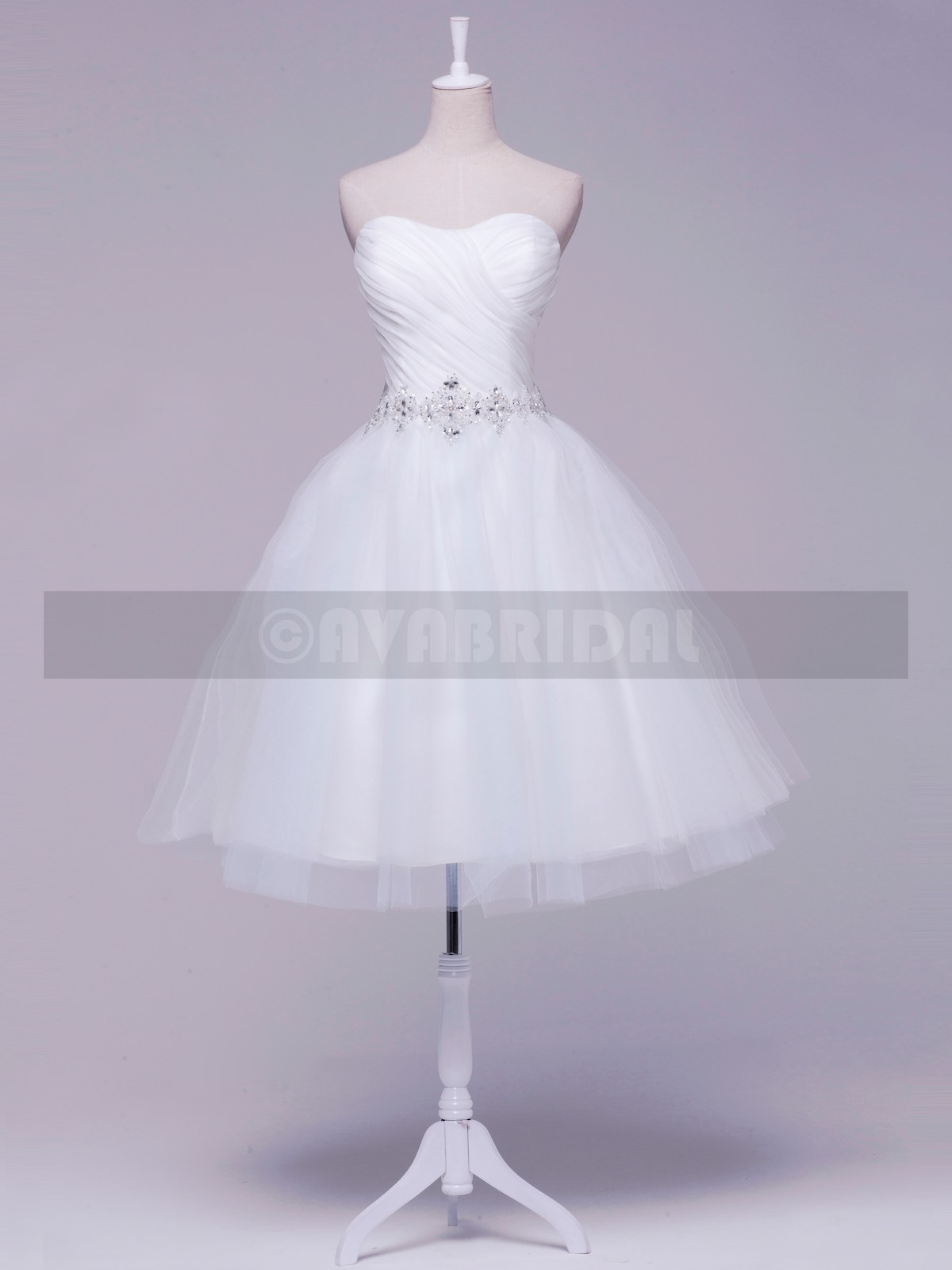 1950s Vintage Wedding Dress - Brooklyn - Front