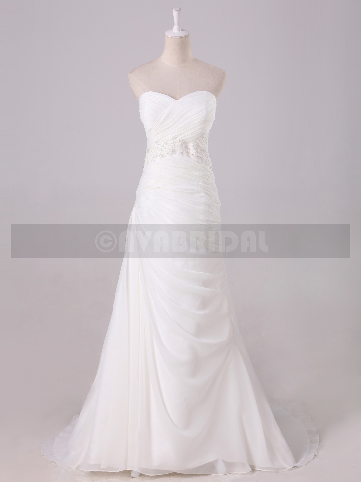 Summer Wedding Dress - Silby - Front