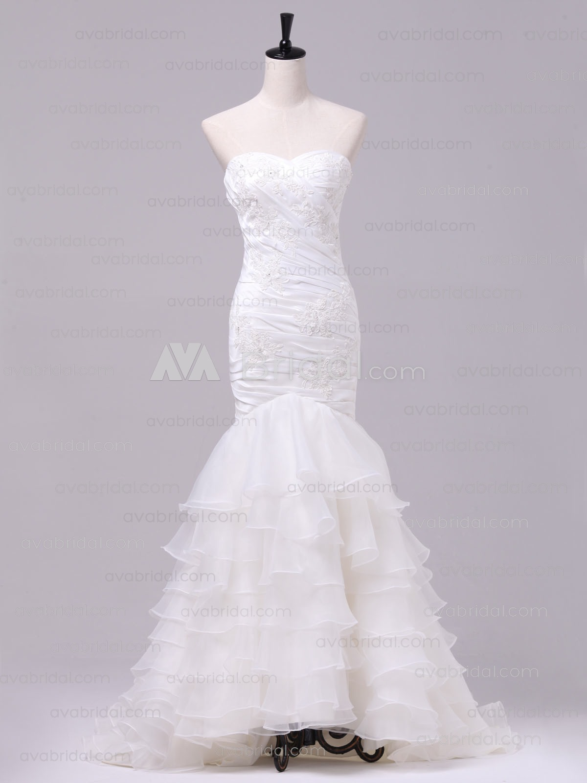 Elegant Wedding Dress - Lilian - Front