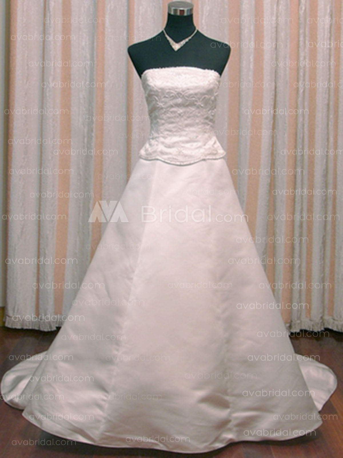 Modest Wedding Gown - Odile - Front