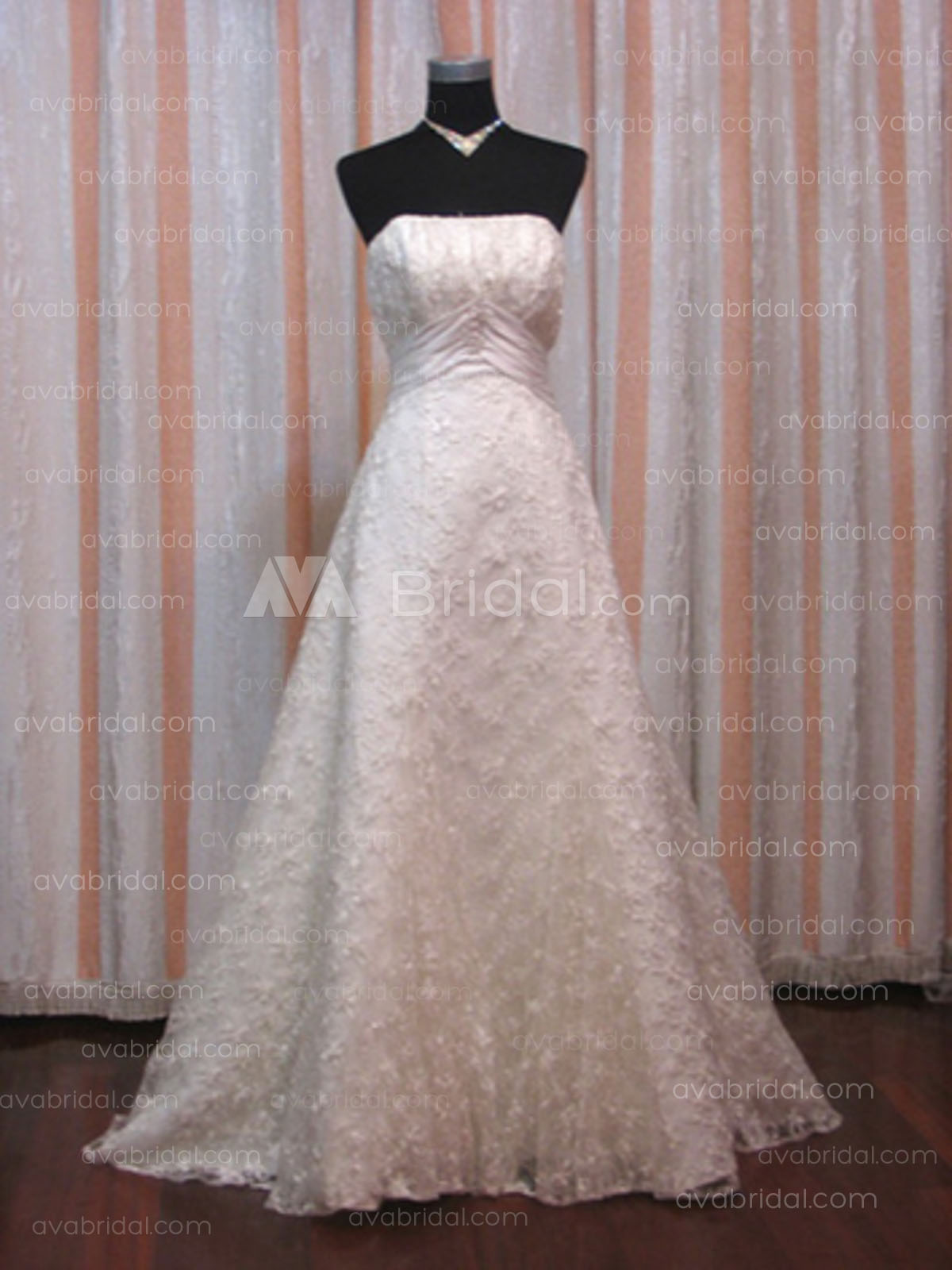 Lace Wedding Dress – Tia-Front