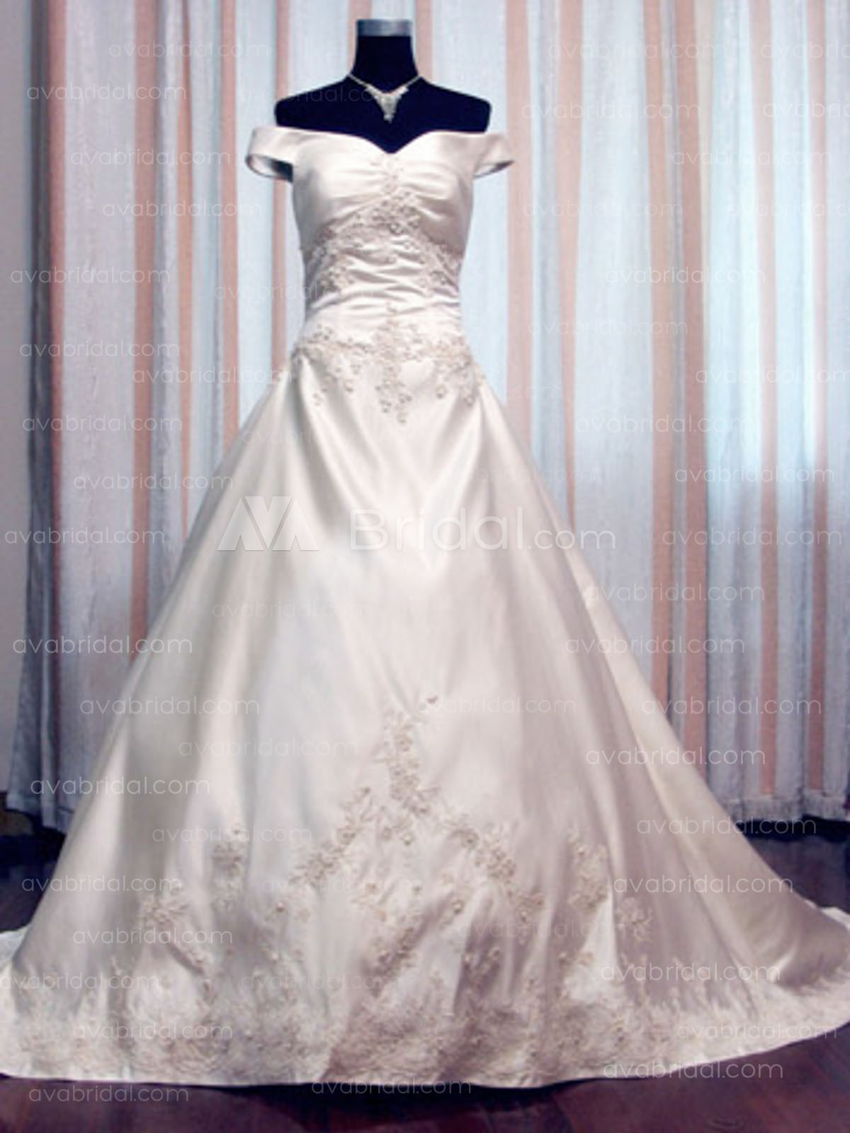 Modest Bridal Gown - Cherith - Front