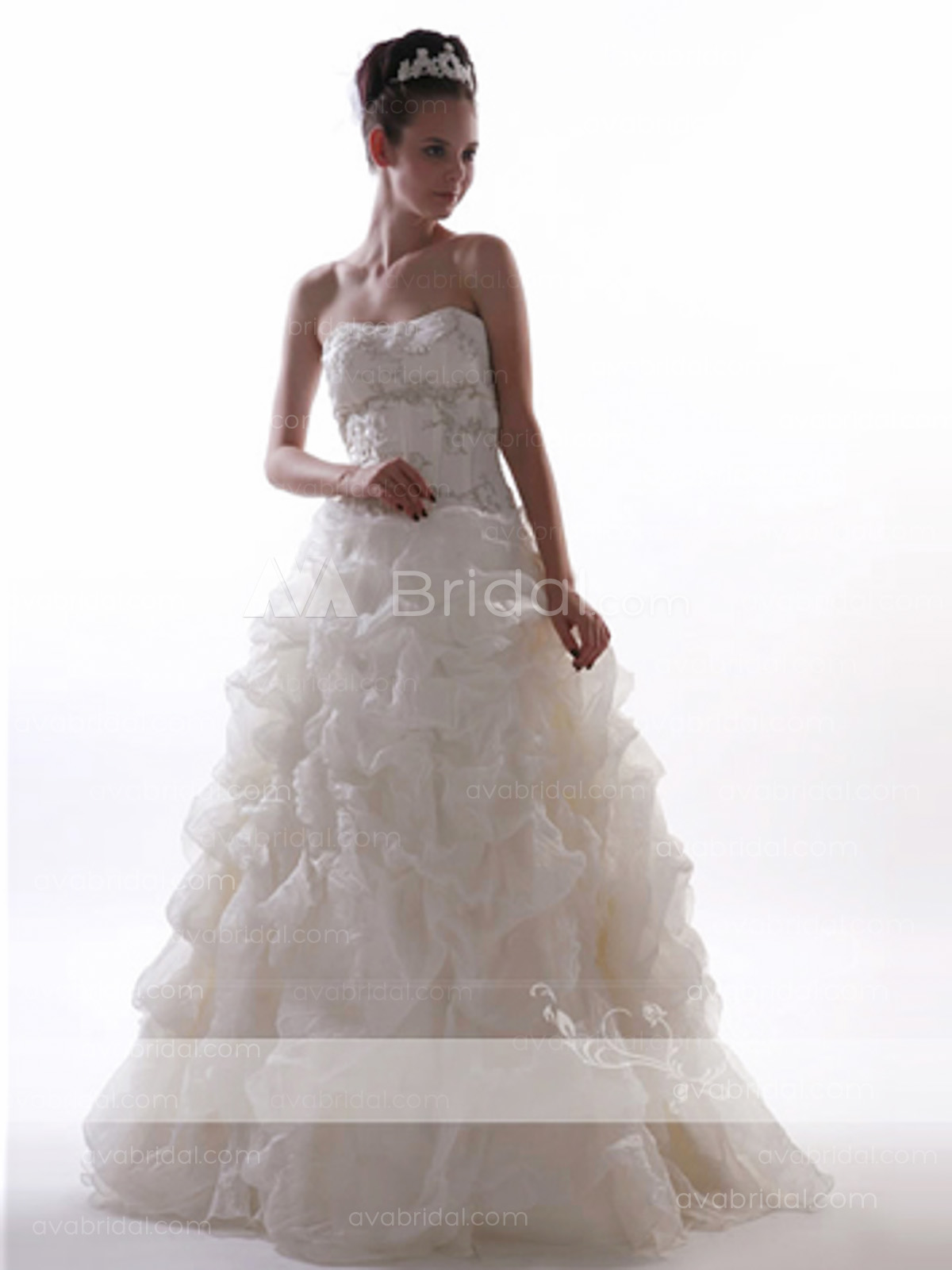 Chic Bridal Gown - Seran - Front
