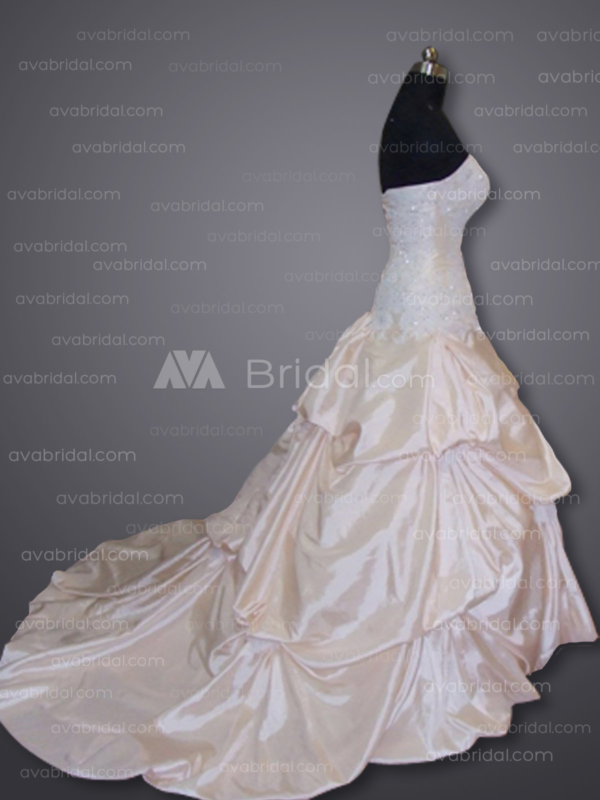 Chic Ball Gown - Annelisa - Right Side