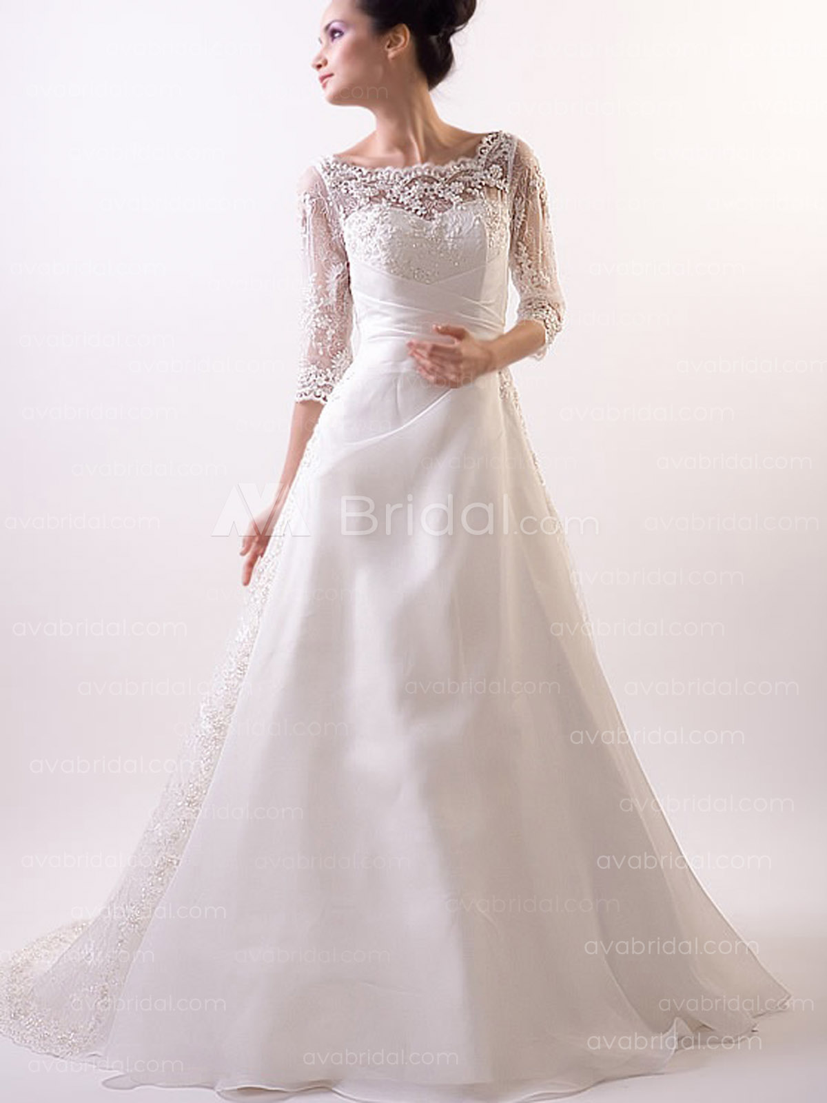 Vintage Wedding Gown - Dianna - Front