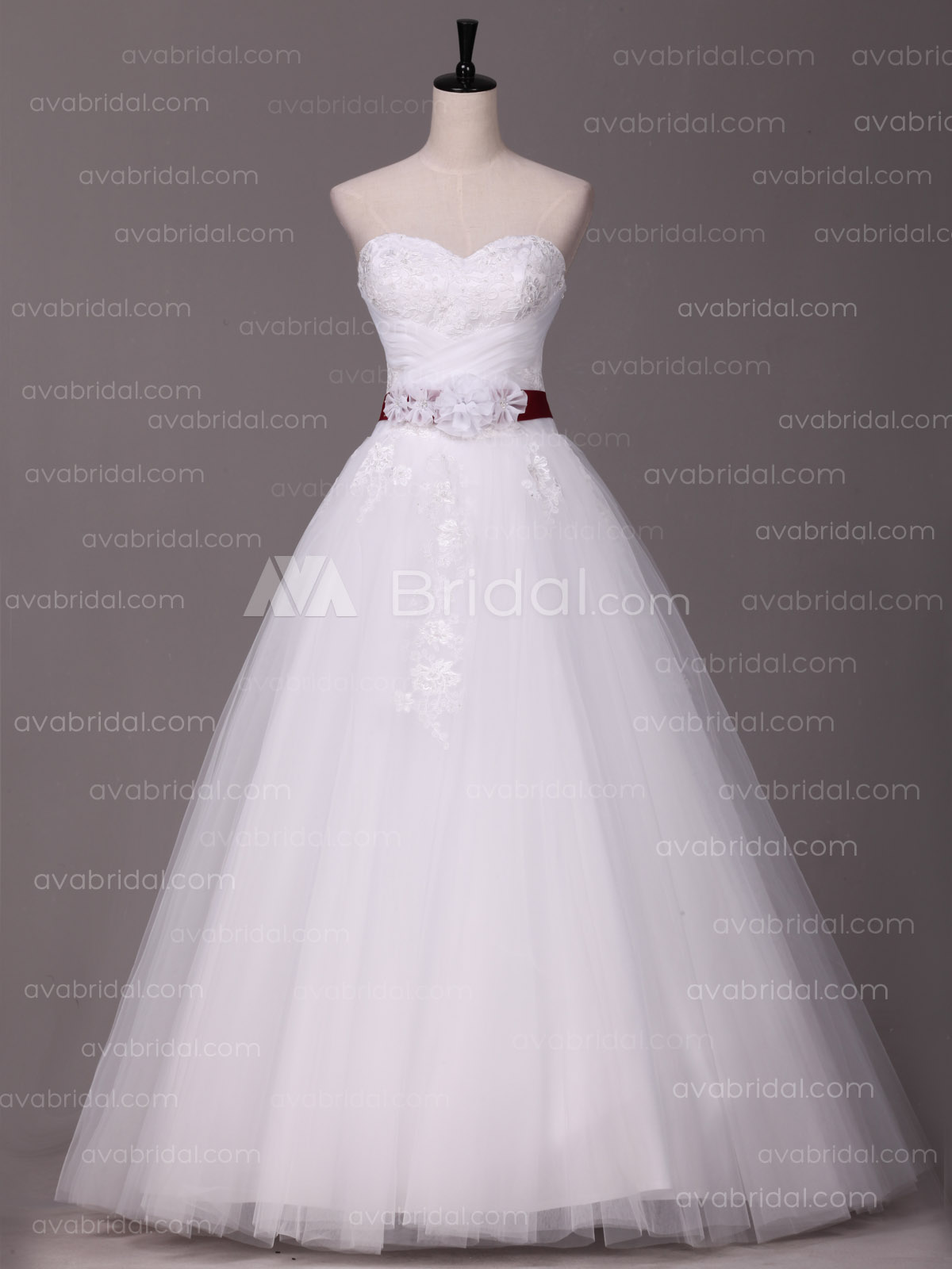 Princess Romatic wedding dress W875-front
