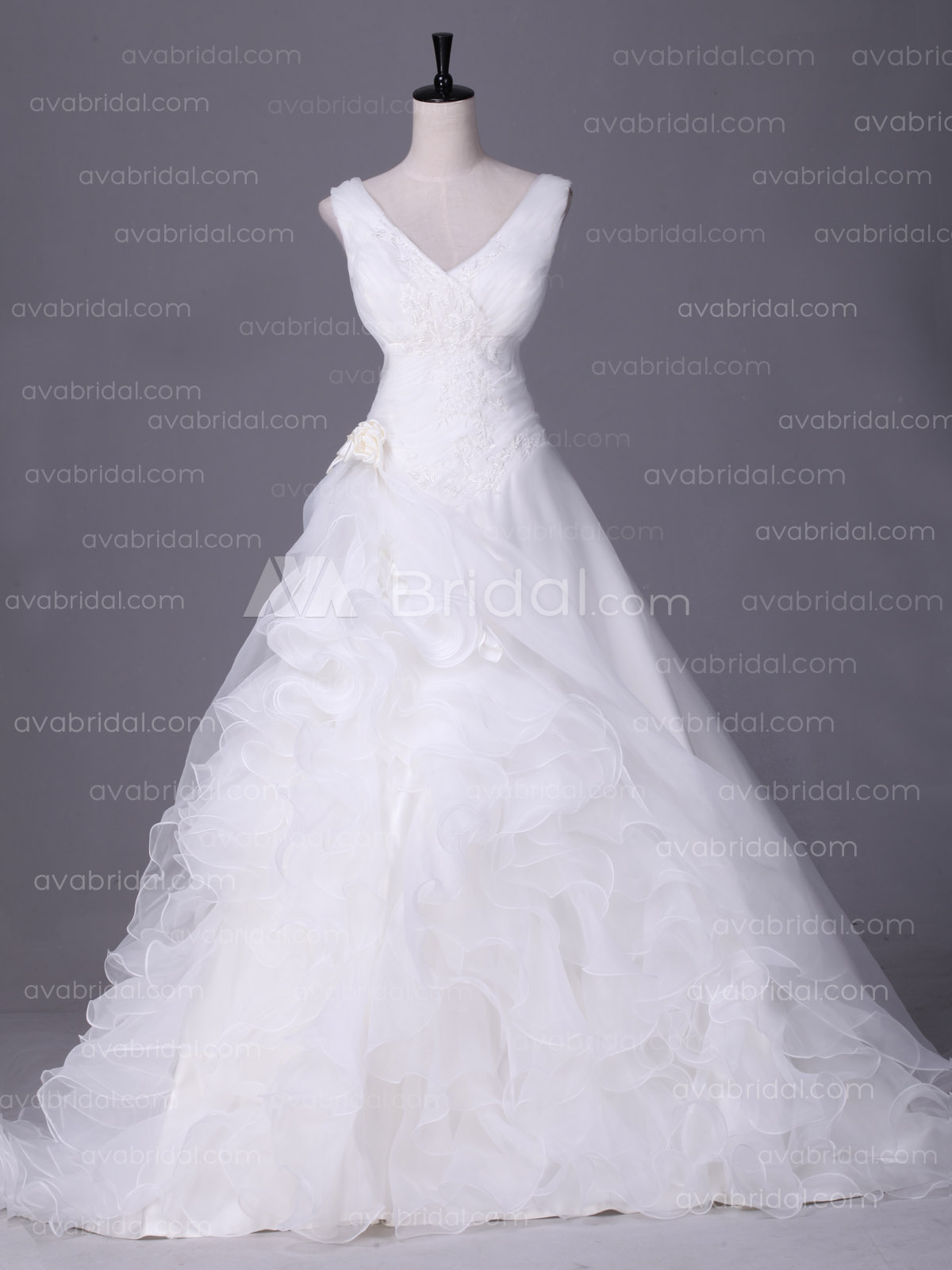 Plus Size Wedding Dress - Jessica - Front