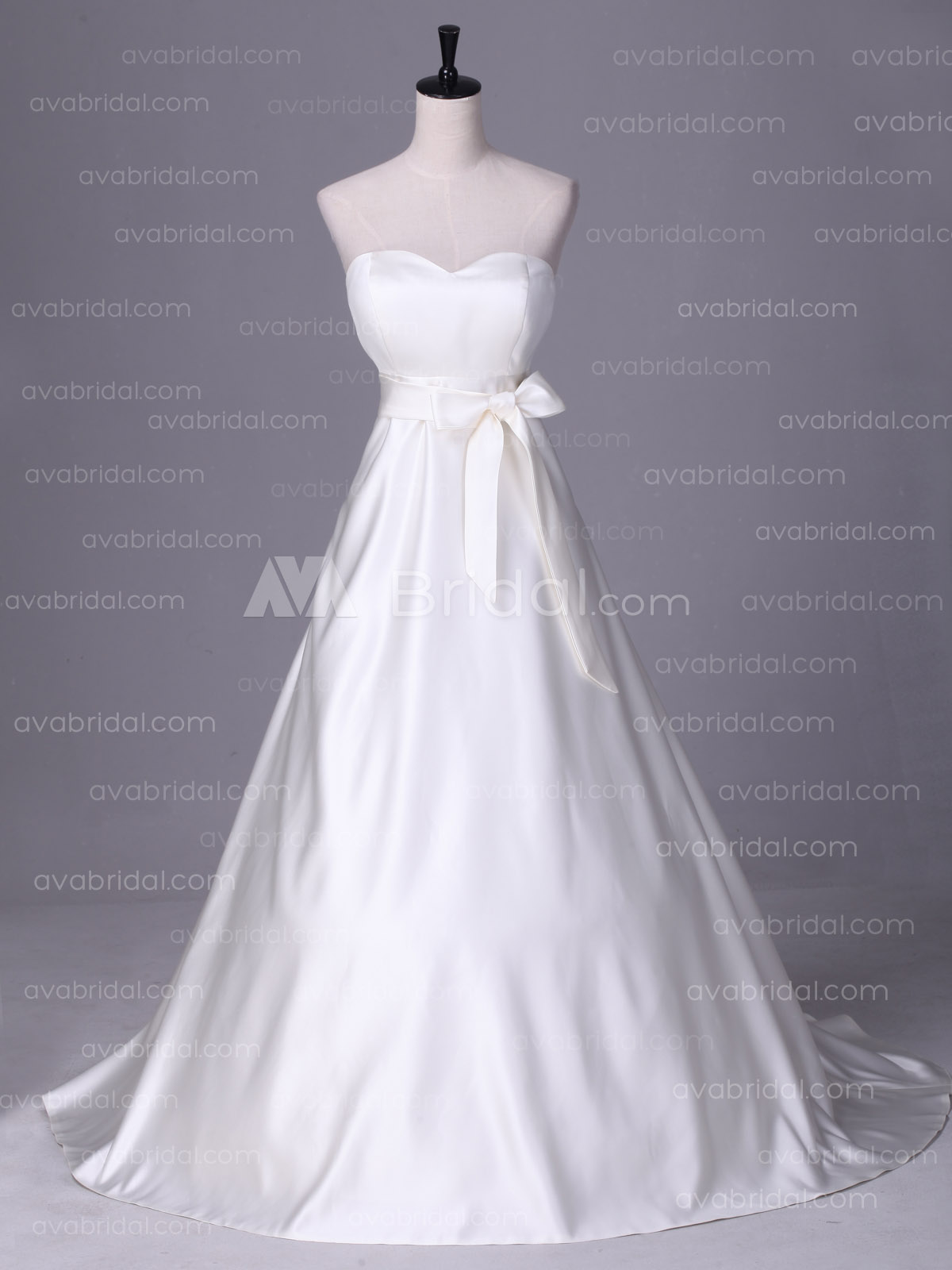 Maternity Wedding Dress - Christina - Front
