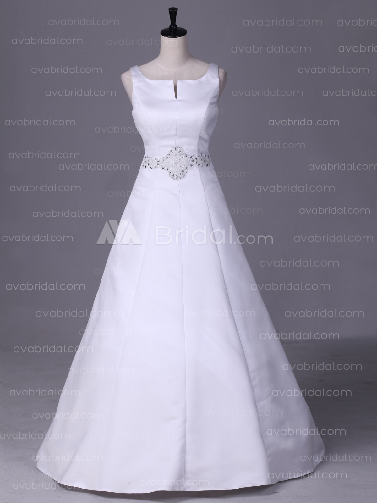 Vintage Wedding Dress - Penny - Front