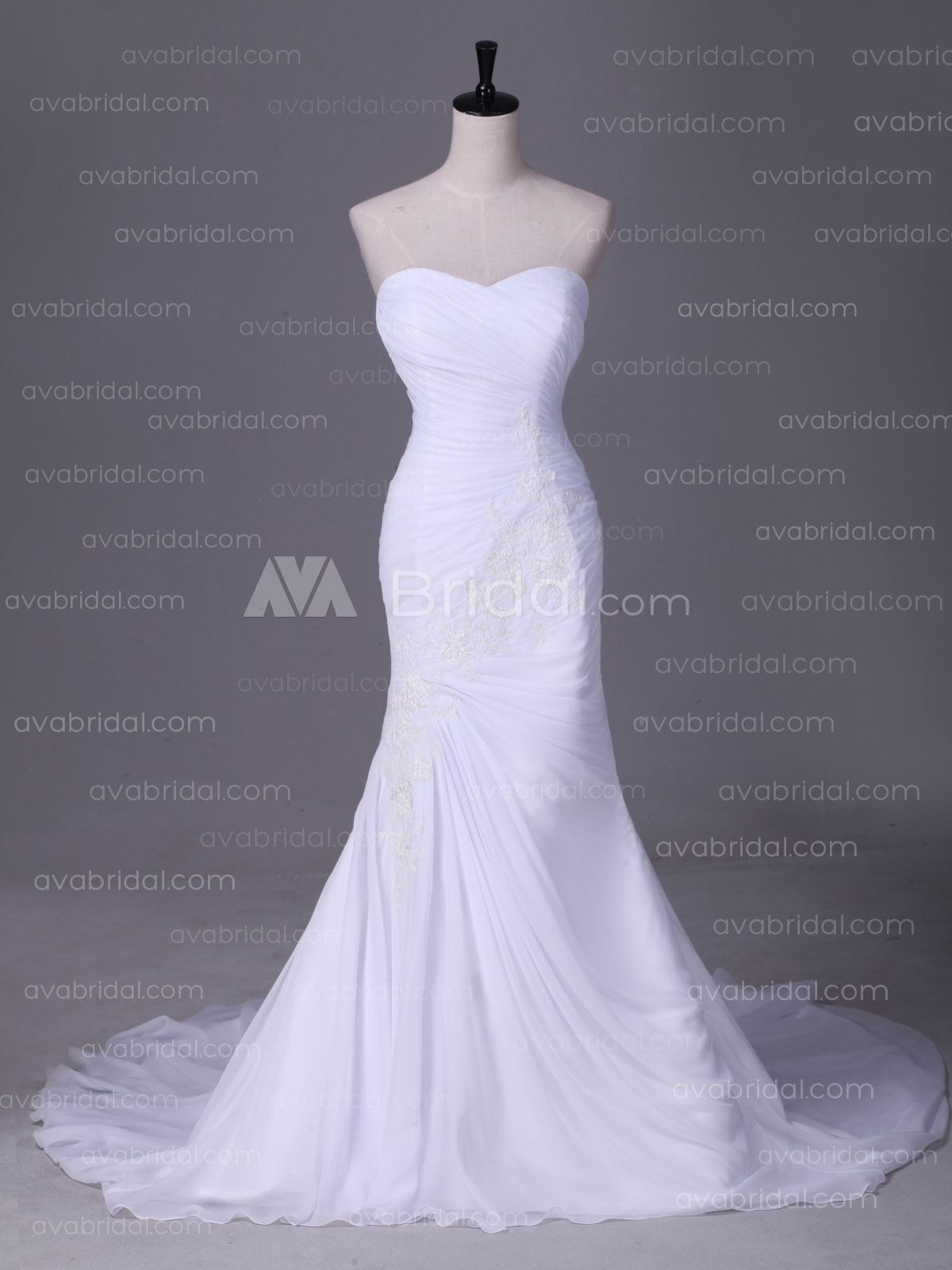 Summer Wedding Dress - Elene - Front