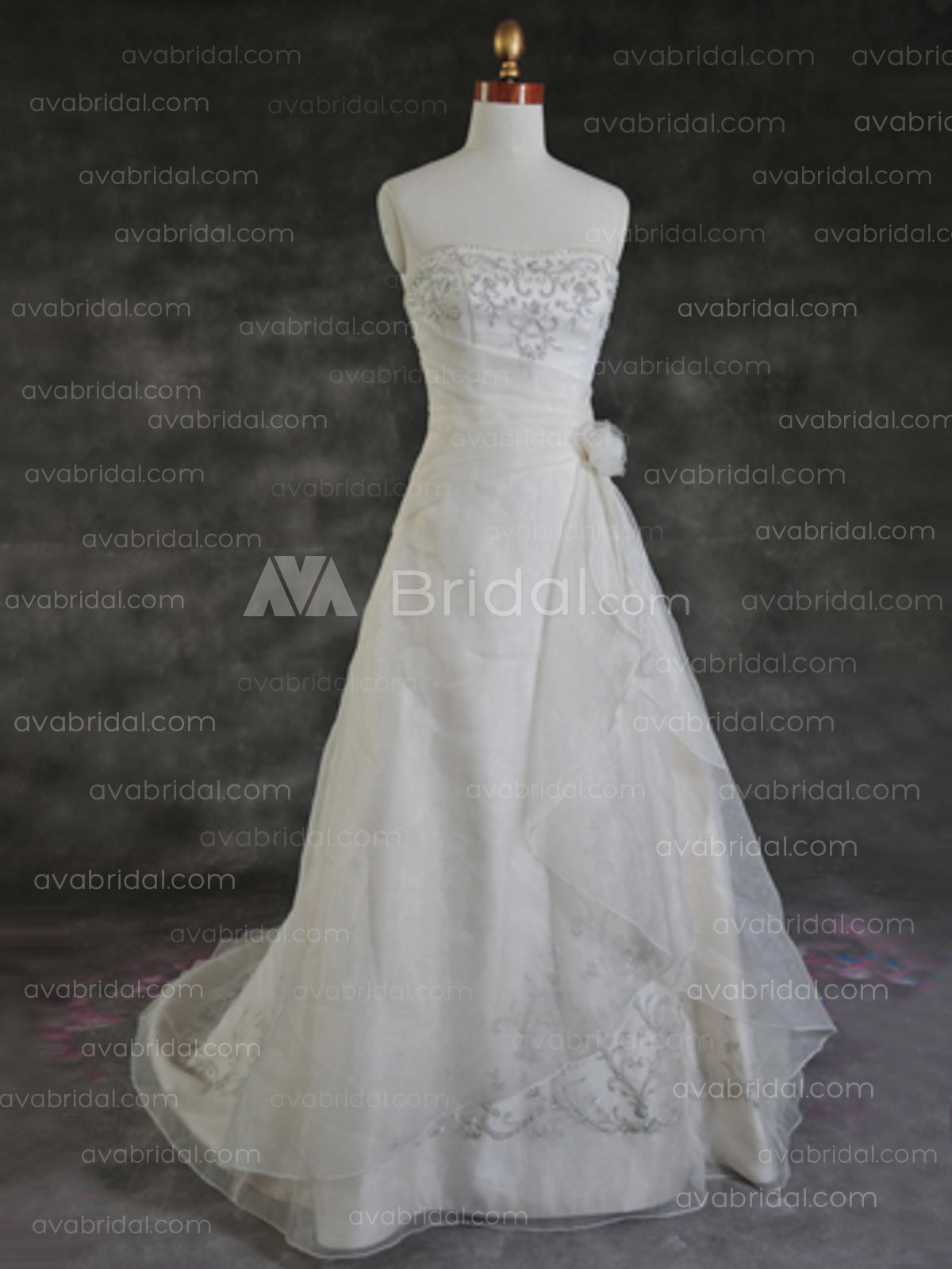 Modest Wedding Dress - Izzy - Front