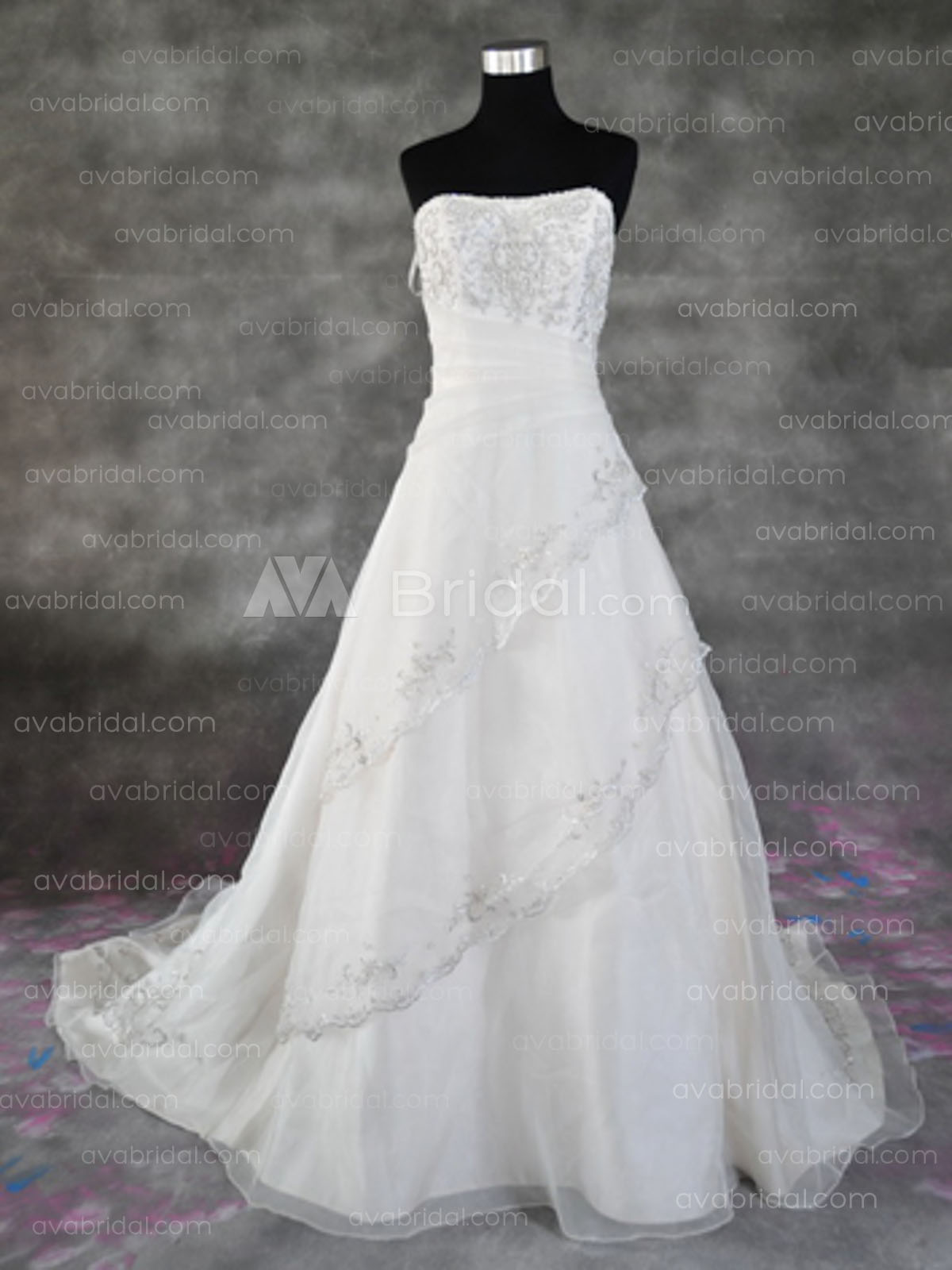 Modest Wedding Dress - Elizabeth - Front