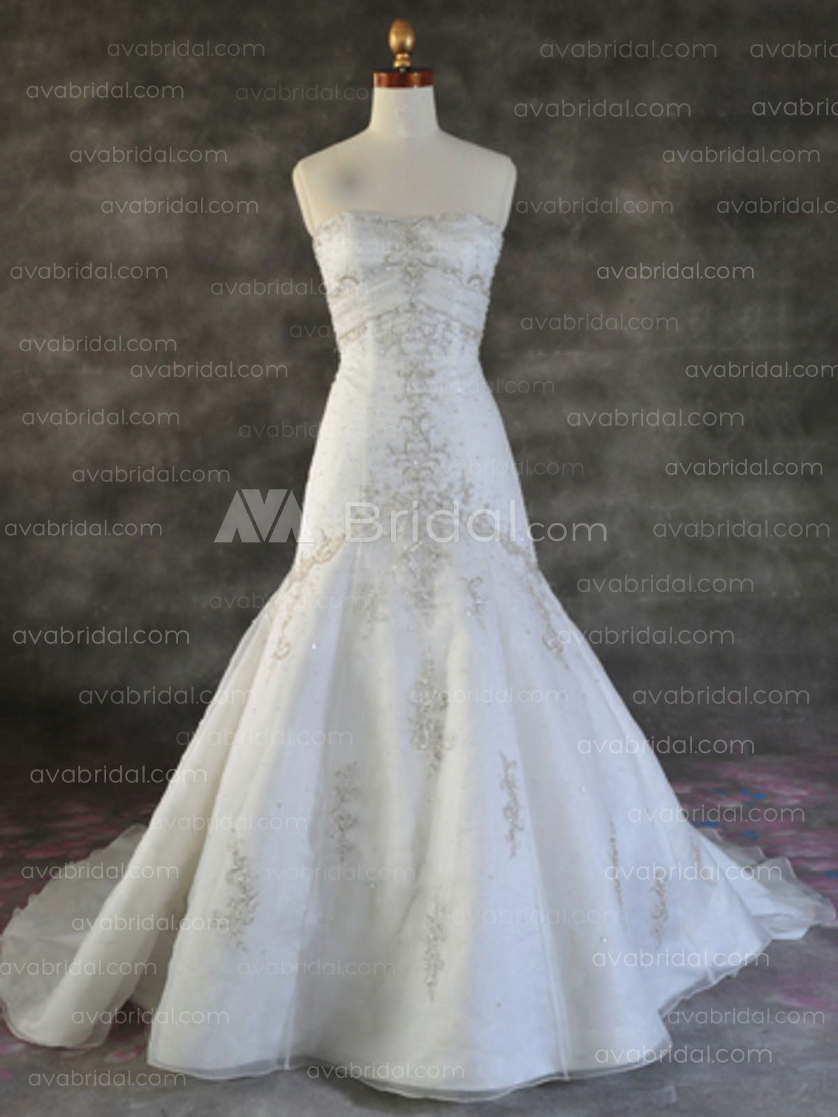 Elegant Wedding Dress - Dorise - Front