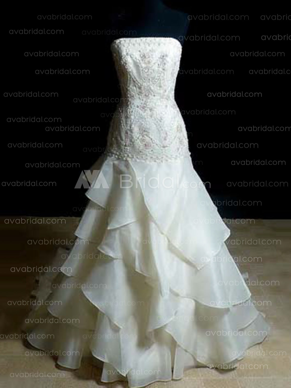 Unique Wedding Dress - Nerissa - Front