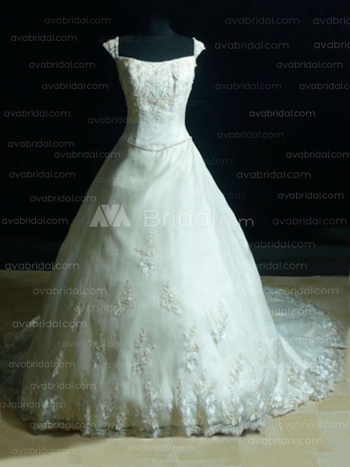 Vintage Inspired Ball Gown - Saina - Front