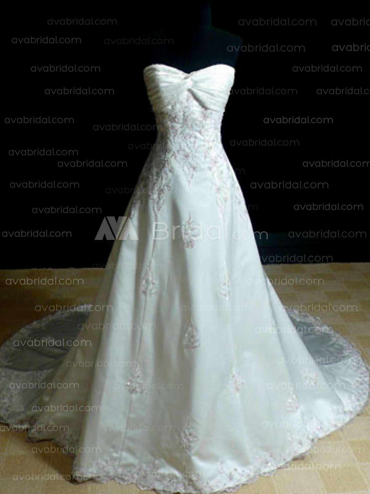 Modest Wedding Dress - Alma - Front