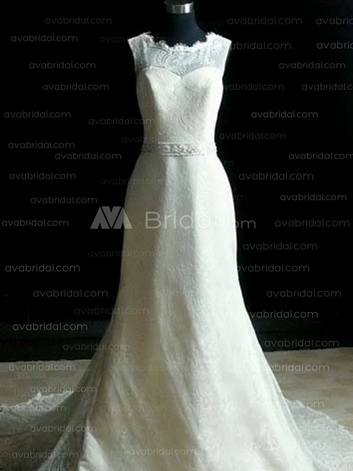 Vintage Wedding Dress - Anne - Front