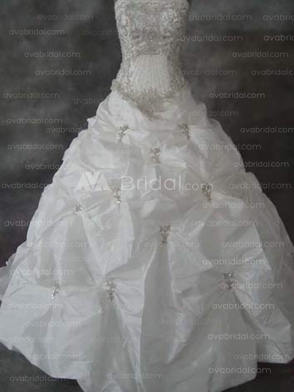 Luxurious Ball Gown - Edla -Front